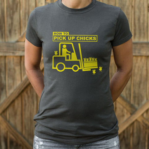 Pick Up Chicks T-Shirt (Ladies)