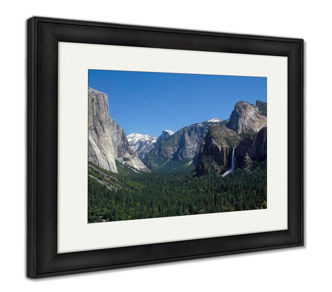 Framed Print, Yosemite Valley California