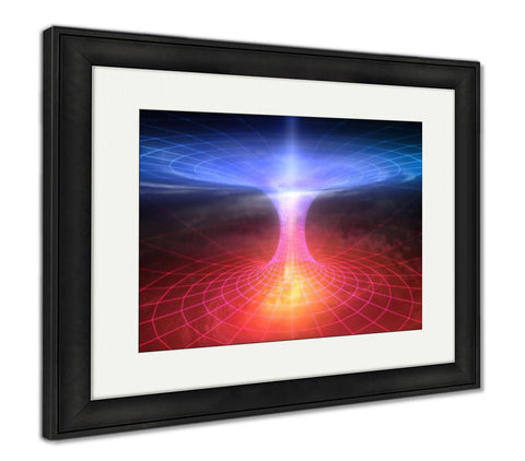 Framed Print, Wormhole