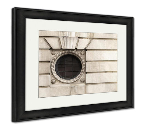 Framed Print, Windows Of The Buildings In Boston Massachusetts