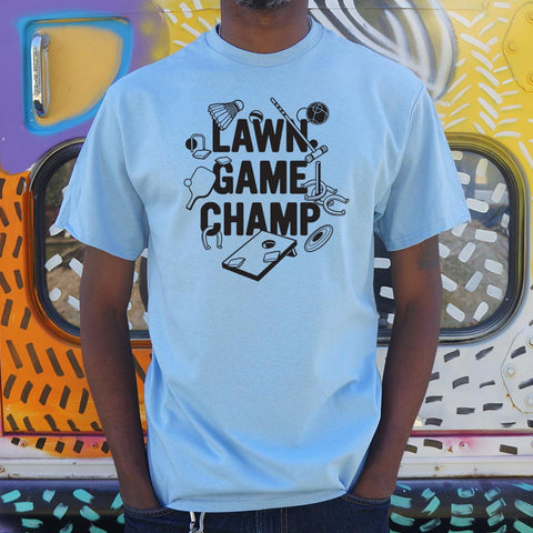 Lawn Game Champ T-Shirt (Mens)