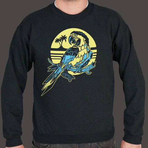 Tropical Macaw Parrot Sweater (Mens)
