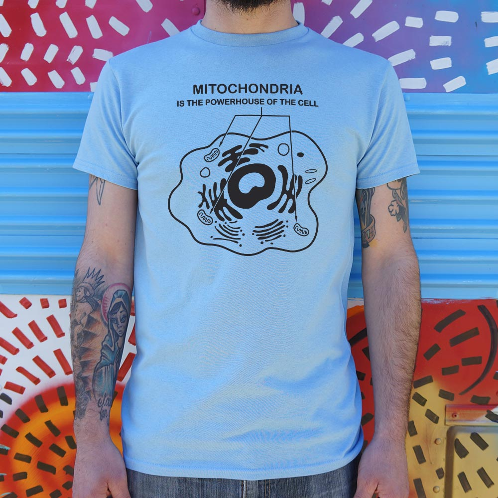 36ee2f8c3 Mitochondria Is The Powerhouse Of The Cell T-Shirt (Mens) – IWARNDU