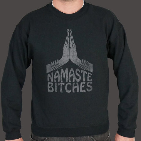 Namaste Bitches Yoga Sweater (Mens)