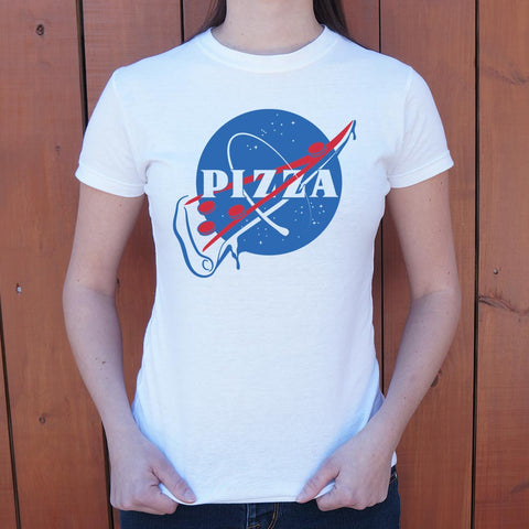 NASA Pizza Slice T-Shirt (Ladies)