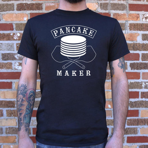 Pancake Maker T-Shirt (Mens)