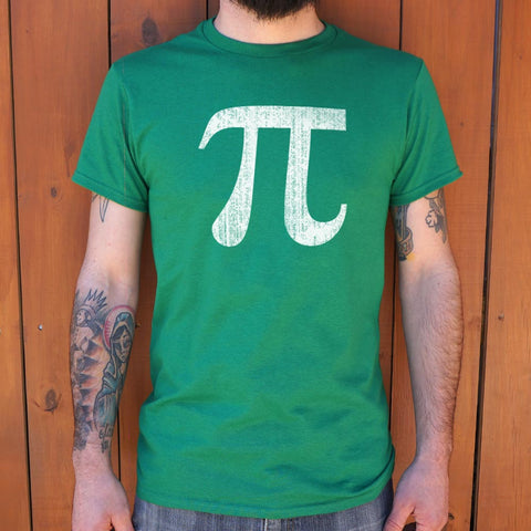Pi Symbol T-Shirt (Mens)