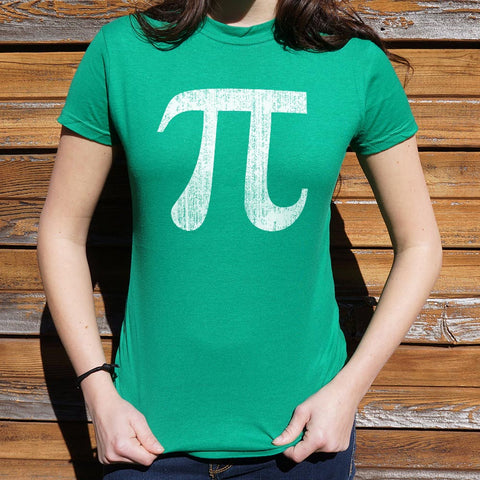 Pi Symbol T-Shirt (Ladies)