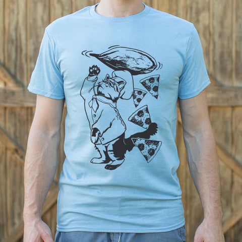 Pizza Cat T-Shirt (Mens)
