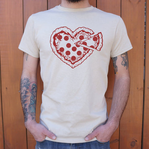 Pizza My Heart T-Shirt (Mens)