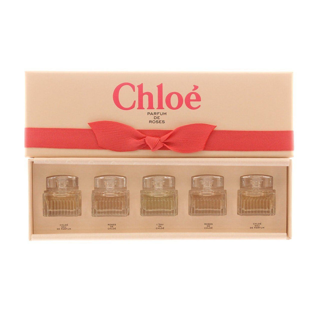 Chloe Mini Parfum De Roses Gift Set 5 x 5 ml