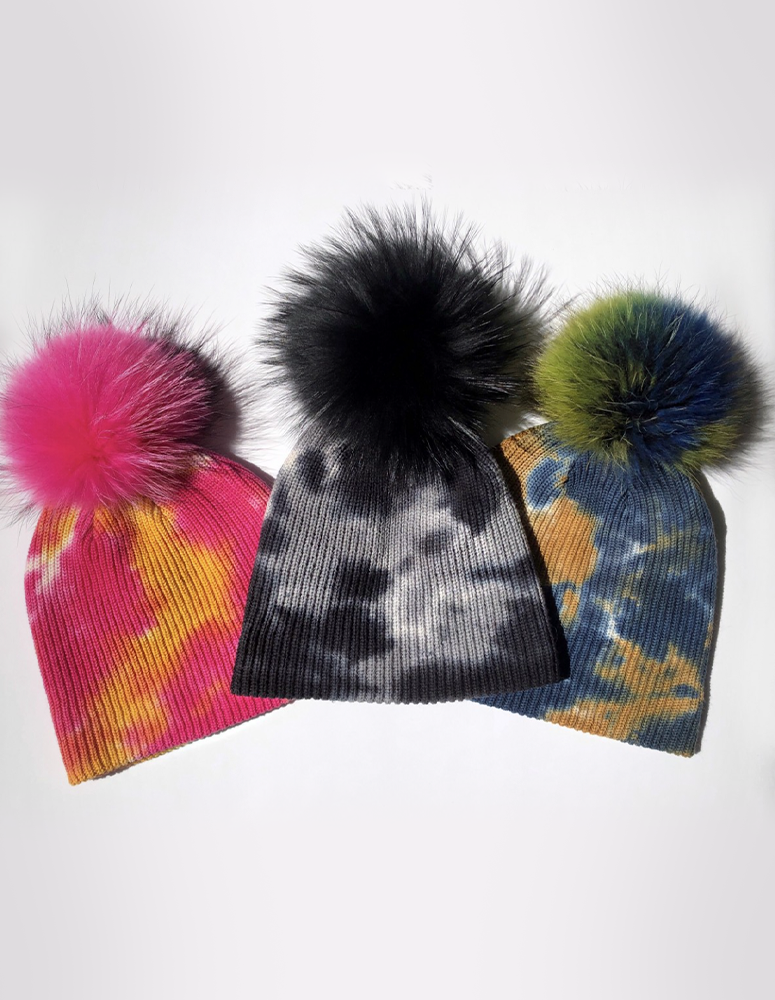 Linda Richards Fur Beanie