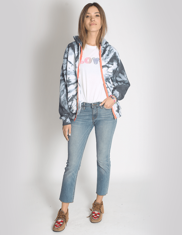 Penelope Tie-Dye Zip Up