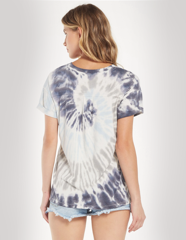 Z-SUPPLY Dip Dye Blue T-shirt