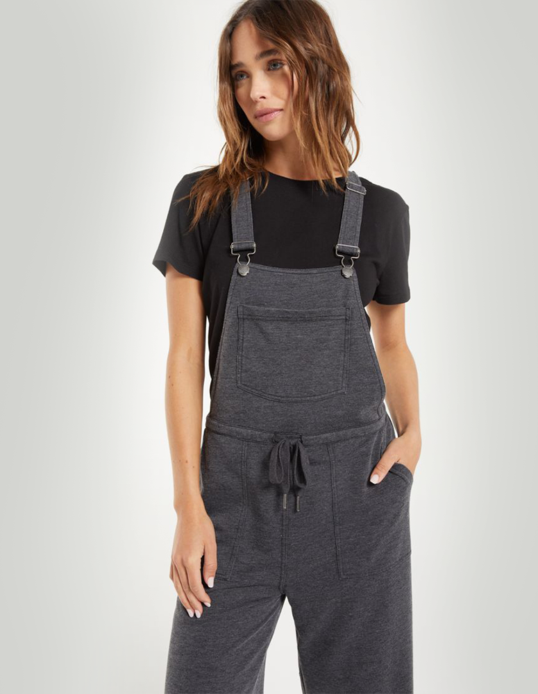 Z-Supply Charcoal/Black Overalls