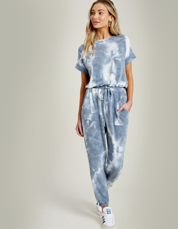 The Cozy Blue Jumpsuit