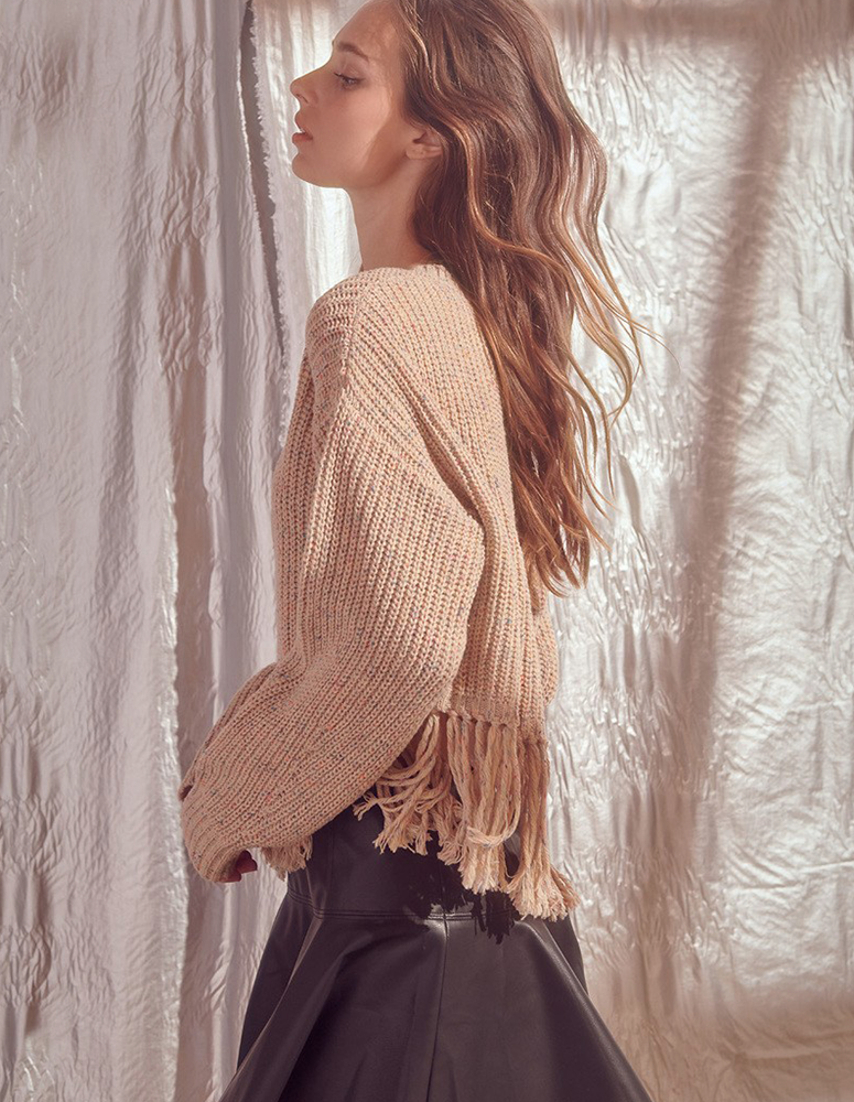Forever in Fringe Sweater