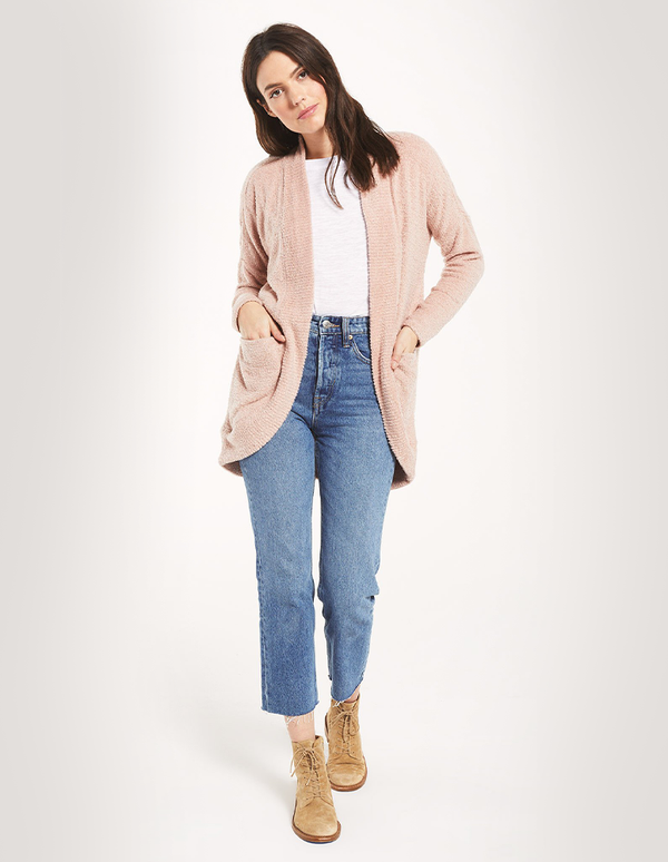 Z Supply Kaylee Pink Cardigan