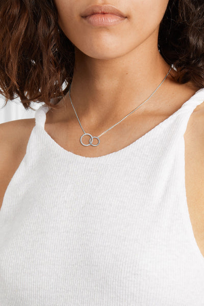 Dainty Abalone Shell Heart Pendant Necklace