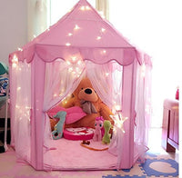 ONMIER Pink Princess Castle Kids Play Tent Children Playhouse Great Birthday Gifts For 1 & ONMIER Pink Princess Castle Kids Play Tent Children Playhouse
