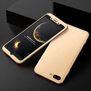 3 in 1 Double Dip 360° Full Protection PC Case for iPhone 7/8 7Plus/8Plus