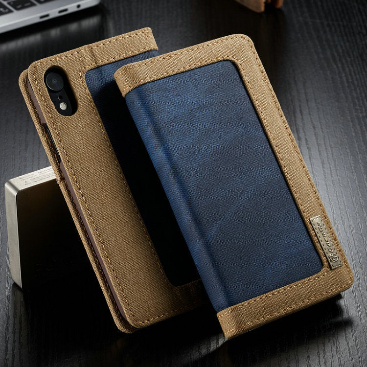 CaseMe waterproof contrast color leather case for iphone 6/7/8 PLUS X XS MAX XR