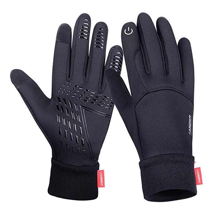 Winter Gloves Cold Weather Windproof Thermal Touchscreen Gloves Men Women For Cycling Running Outdoor Activities