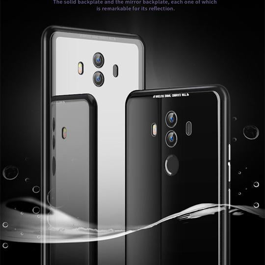 Magnetico Case di Alluminio Del Metallo Per Huawei Mate 10 Mate 10 Pro With Free Screen Protector