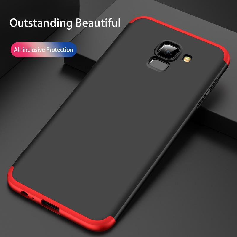 3 in 1 Samsung Galaxy A6(2018) Double Dip 360° Full Body Protective Case