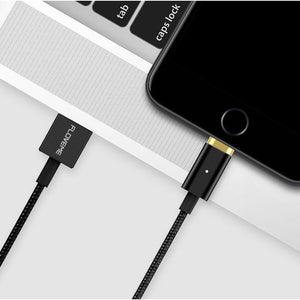 FLOVEME Magnetic USB Charging Cable 1m Micro USB Type-C Lightning for iPhone Huawei Xiaomi Samsung-Chargers & Cables-Black-hykis.com