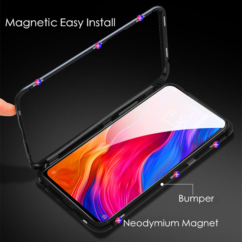 360 Full Cover Luxury Magnet Magnetic Adsorption Case for Xiaomi Redmi 5pro
