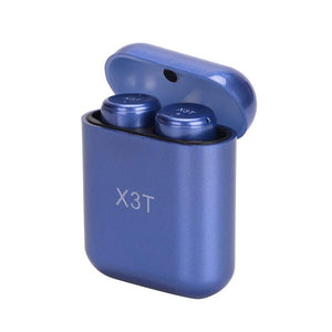X3T True Wireless Earbuds All-touch Active Bluetooth Headphones Stereo Headset with Portable Charging Case