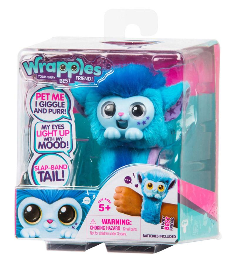 Surprise Pomsies Cat Plush Interactive Toys Pomsies Wrapples Electronic Toys For Children
