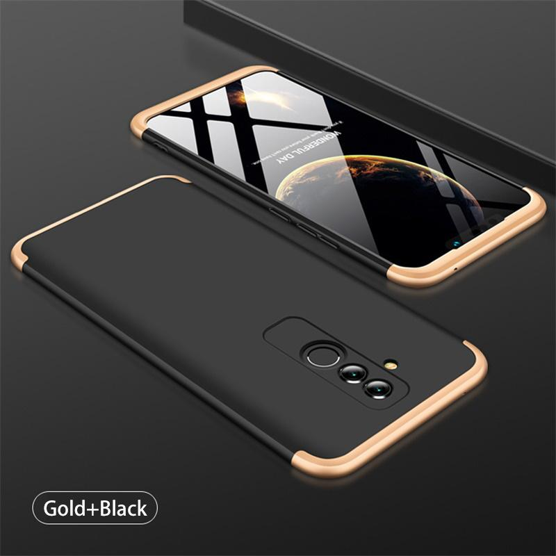 3 in 1 HUAWEI  Mate 20 Lite Double Dip 360° Full Body Protective Case