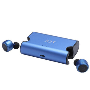 X2T Mini True Wireless Bluetooth Earbuds Hands-free Calling with Charging Box for Wireless Earbuds Stereo Surround Sound Headset Earphone