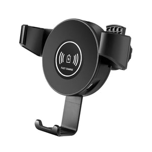 Car Air Vent Wireless Charging Mount Stand with Infrared Sensing Automatic Arms Compatible Android 7.5W/Apple 10W Fast Wireless Charger