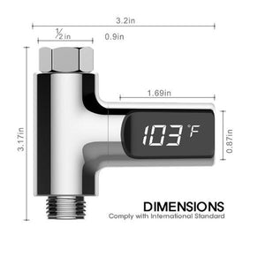 LED  water thermometer