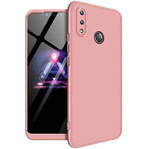 3 in 1 HUAWEI NOVA 3i Double Dip 360° Degree Full Protection Hard PC Matte Coque Cover With Tempered Glass Film