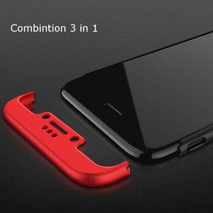 3 in 1  iPhone  6 6s Plus  5S&IPhone 5Se Double Dip 360° Full Protection PC Case