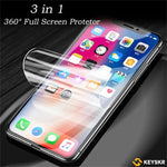 iPhone Samsung Huawei with Free Gift 360° Full Screen Protector Film With Full set of Accessories Front and Back Film for iPhone X/XS/XS Max/XR/8/7/6/6s HUAWEI P20/P20 Pro/P20 Lite/Samsung S9/S9 Plus/Note8 Screen Protective