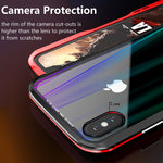 Luxury Magnetic Case For Apple iPhone XS Max Case Coque Metal Bumper Cover For iPhone XR Case Transparent Aurora Tempered GlassLuxury Magnetic Case For Apple iPhone XS Max Case Coque Metal Bumper Cover For iPhone XR Case Transparent Aurora Tempered Glass