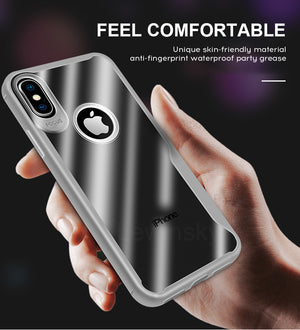 Luxury Clear Silicone Ultra Thin Soft TPU Case For iPhone X 7 8 6S 6 S Plus Shockproof Case For iPhone 6S SE 5 5S Colorful Case