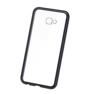 Magnetic Adsorption Flip Phone Case for Samsung J4 J6 PLUS