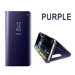 Luxury Flip Protection Full Screen Window Cases For samsung