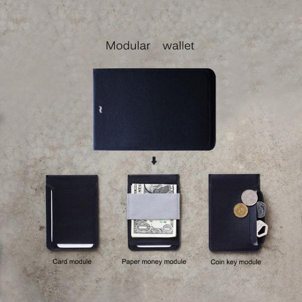 MAG 3 in 1 Modular Wallet Short Section of The Wallet Demolition Magnetic Card Bag