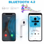 Mini TWS V4.2 Wireless Earphone Bluetooth Earphones Pair In-Ear Earbuds Headphones Stereo Headset with Mic for All Smart Phone