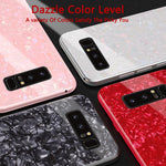 Tempered Glass Case For Samsung Case Hard Cover For Samsung Galaxy S9/S9 Plus/S8/S8 Plus/Note 9/Note 8 Case