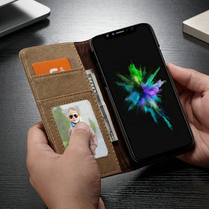 Waterproof Flip Wallet Cover Original Phone Cases for Samsung Galaxy Note 9 S9 / S9 Plus