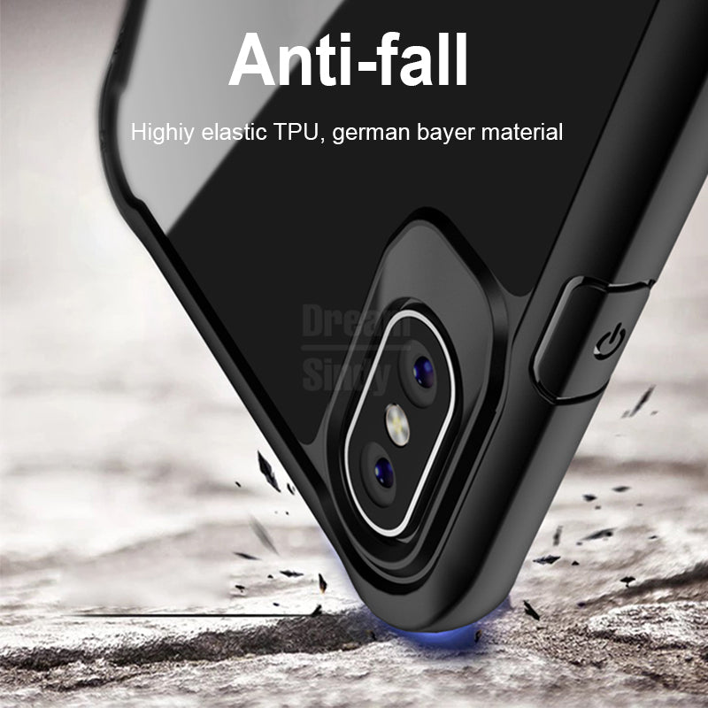 Airbag Shockproof Soft Silicone Full Cover Case For iphone X XR XS Max 6 6s 7 8 PLus