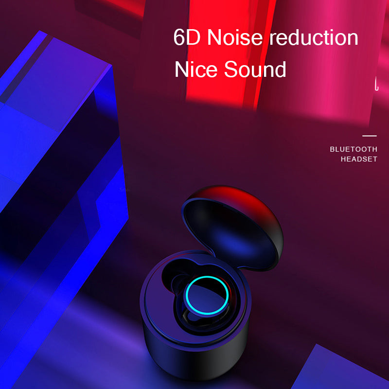 Waterproof Wireless I3 Bluetooth In-Ear mini Single Ear Driving Capsule Earphone With Charging Bin